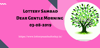 Dear Gentle Morning,Lottery Sambad