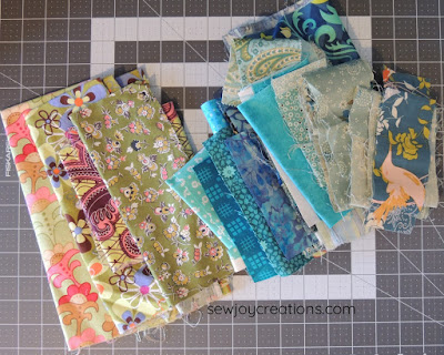 cool colour fabrics liberated churn dash quilt