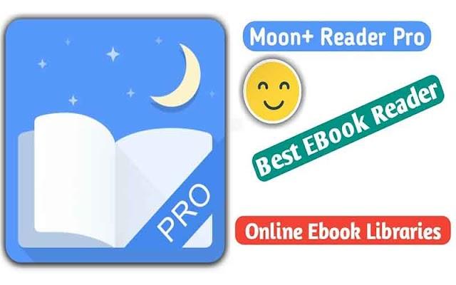 Moon+ Reader Pro 5.2.3 Apk - Trình đọc sách cho Android