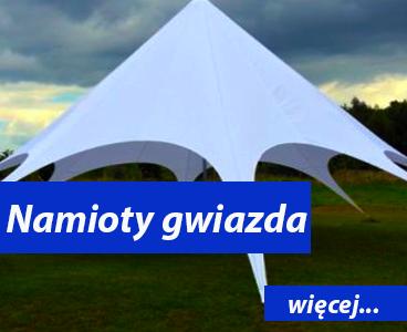 Namioty gwiazda Animatorzy Wrocław Dmuchańce