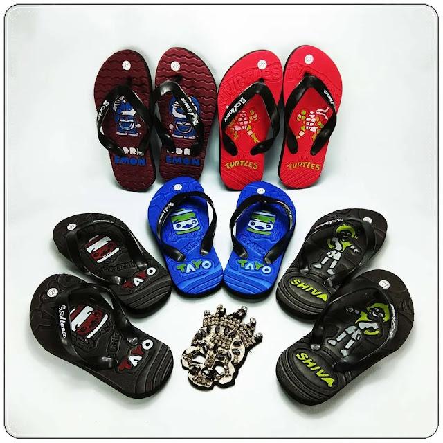 Grosirsandalmurah.Net-Sandal Anak - Club Bola Simplek Anak