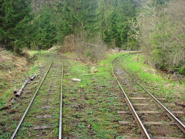 Развилка карпатских железных дорог