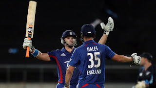 Alex Hales 80* - New Zealand vs England 3rd T20I 2013 Highlights