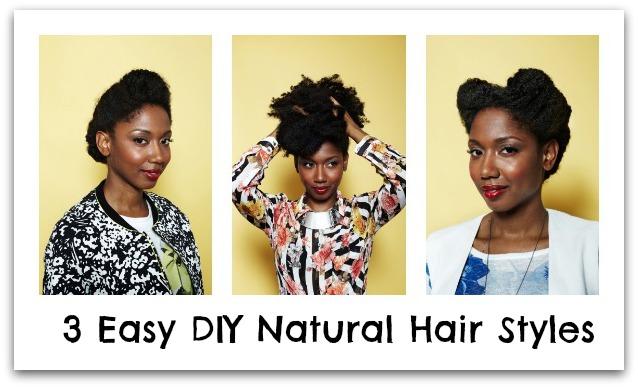 Excellent Diy Natural Hair Styles Short Hairstyles Gunalazisus