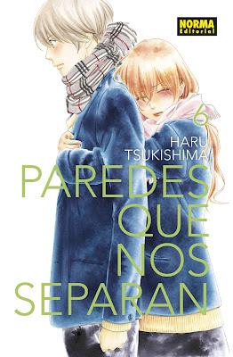 Review del manga Paredes que nos separan Vol. 6 y 7 de Haru Tsukishima - Norma Editorial