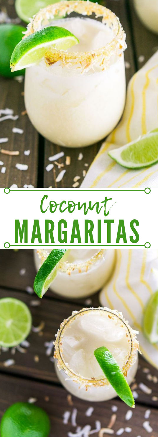 COCONUT MARGARITA #drink #cocktail #coconut #smoothie #yummy