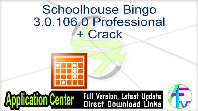 Schoolhouse Bingo 3.0.106.0 Professional + Crack