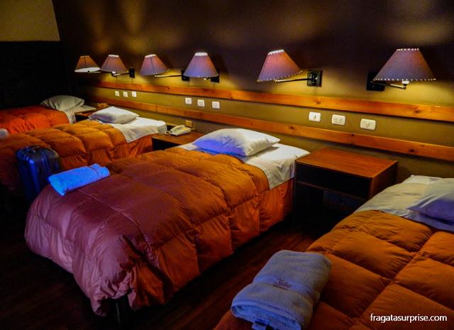 Quarto triplo do hotel La Casona de Rimacpampa, em Cusco
