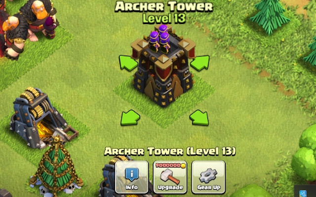 Defensive Building Clash Of Clans Archer Tower