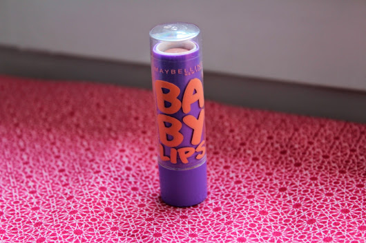 What's that ? #2 : Baby lips Cherry Me de Maybelline