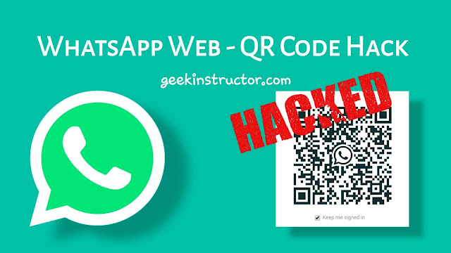WhatsApp Web - QR code hack