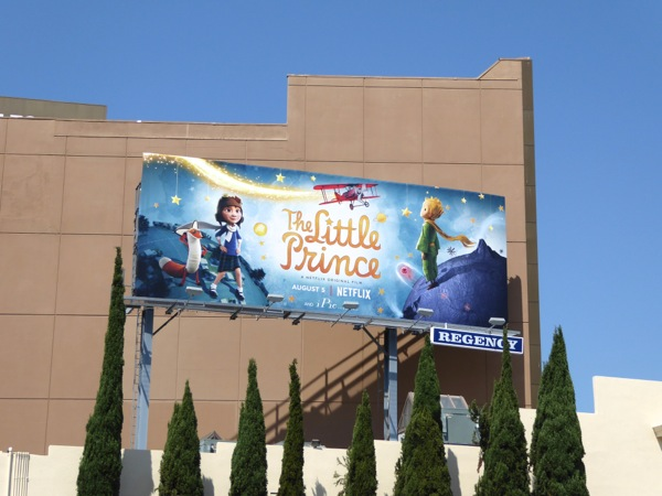 Little Prince Netflix movie billboard