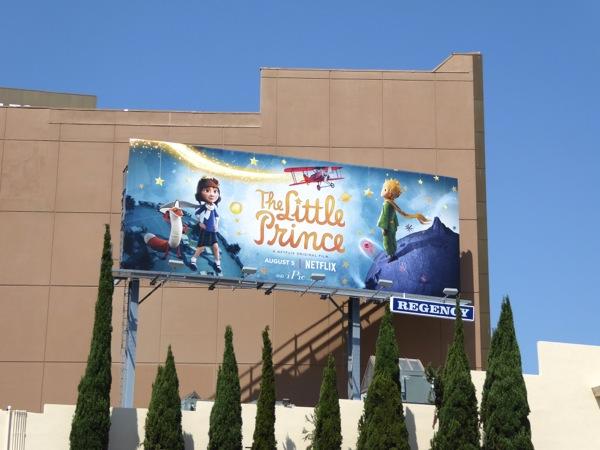 Little Prince Netflix movie billboard