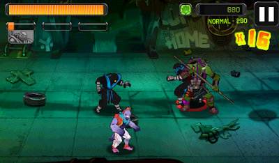 TMNT Brothers Unite v1.0.2 Mod Apk+Data (Unlimited Gold+Gems)