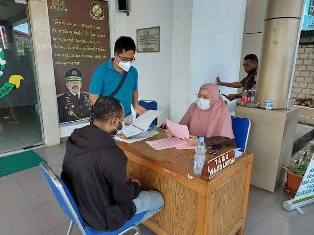 Polresta Jayapura Limpahkan Tersangka Penggelapan Iuran BPJS 1,5 Miliar Ke Kejaksaan