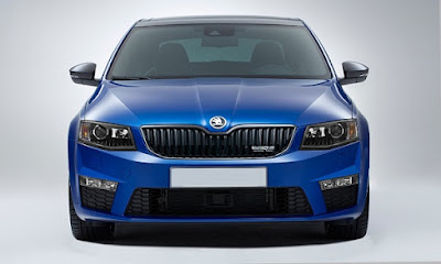 New 2017 Skoda Octavia vRS front grill look Hd Photos