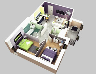 Comparing Design House 2nd Floor with 1 Floor