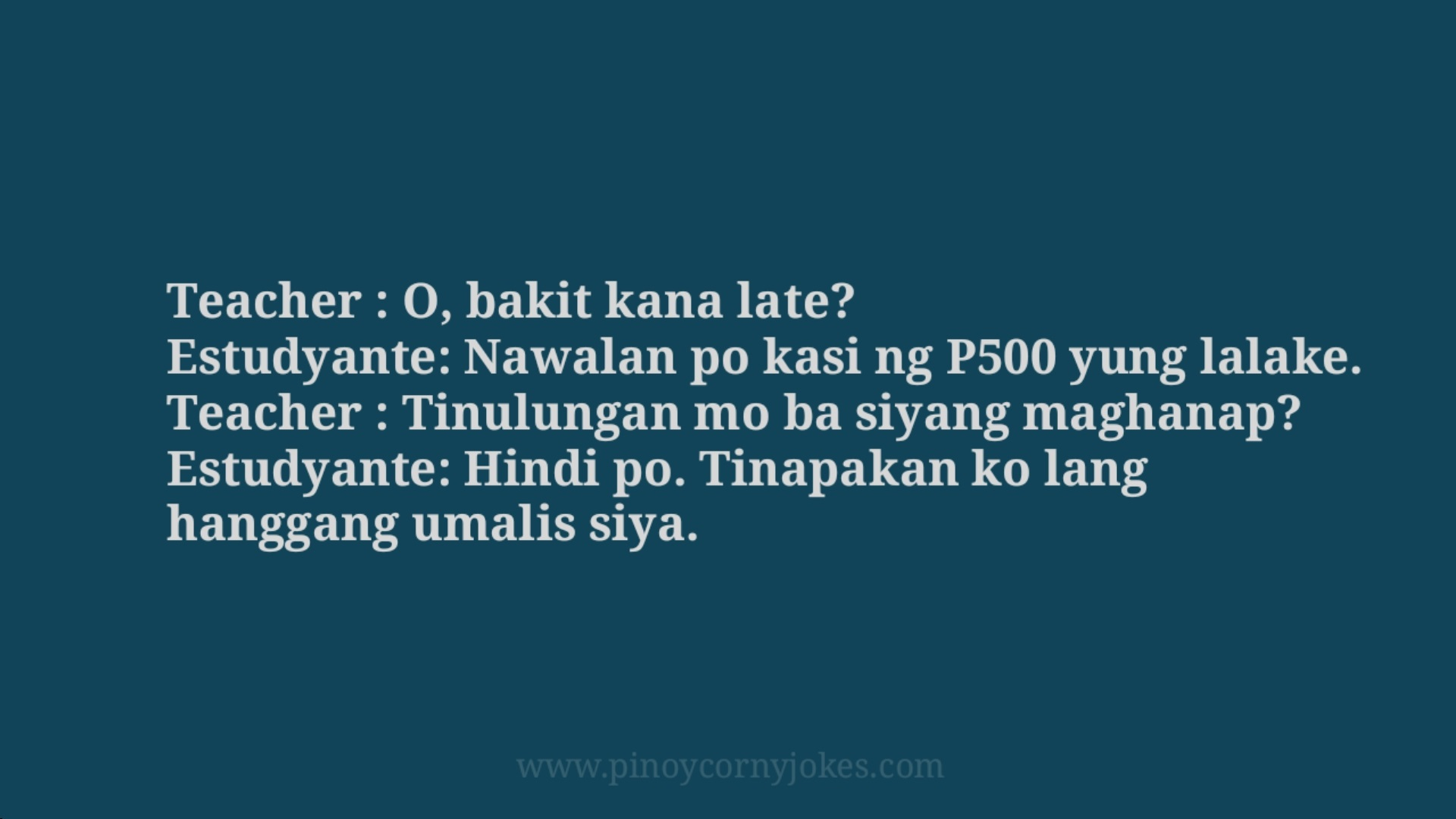 500 tagalog school jokes 2021