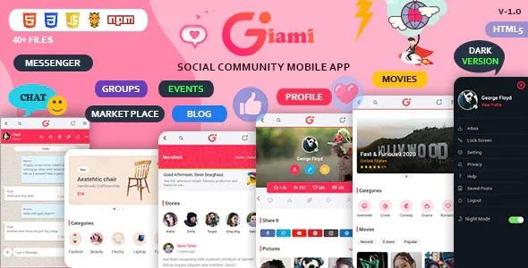 Best Social Community Mobile App Kit