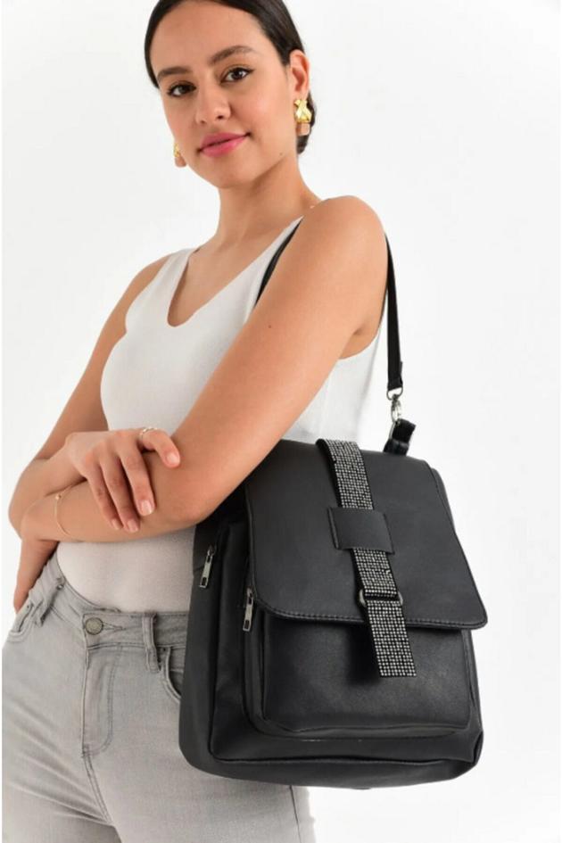 lolinna siyah çanta