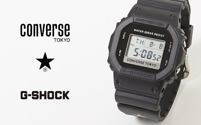 Jam Converse Tokyo x G-Shock DW-5600 Collaboration