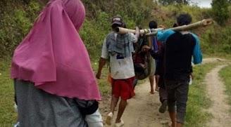 Cerita Ani, Ibu Hamil di Sulbar yang Ditandu ke Rumah Sakit karena Jalan Rusak