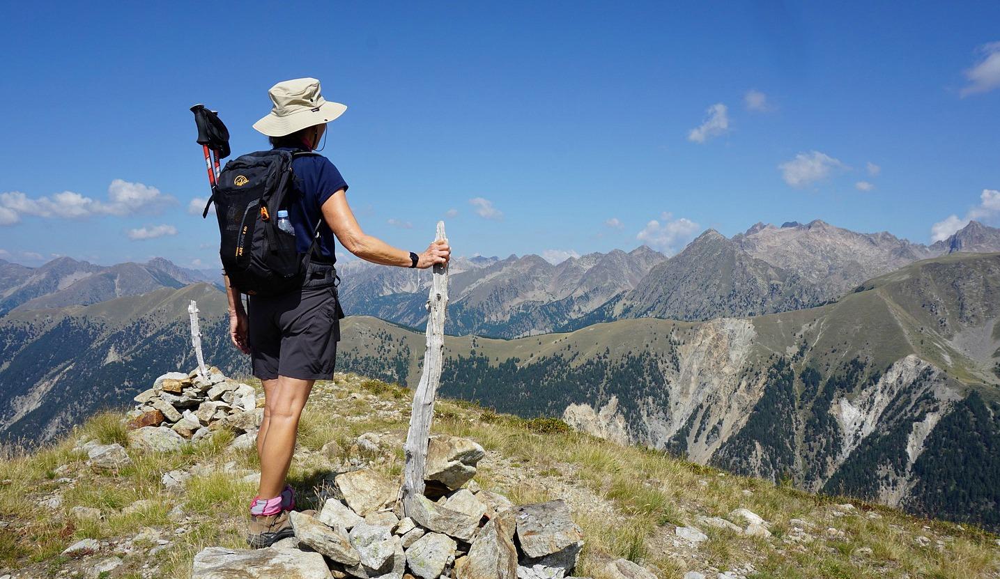 Summit of Mont Lapassé 2351 m