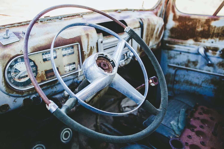 old speedometer - instrument cluster