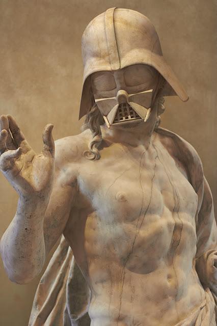 スターウォーズのギリシャ彫刻が見つかる⁉︎5枚【Art】  ダースベイダーのヌード