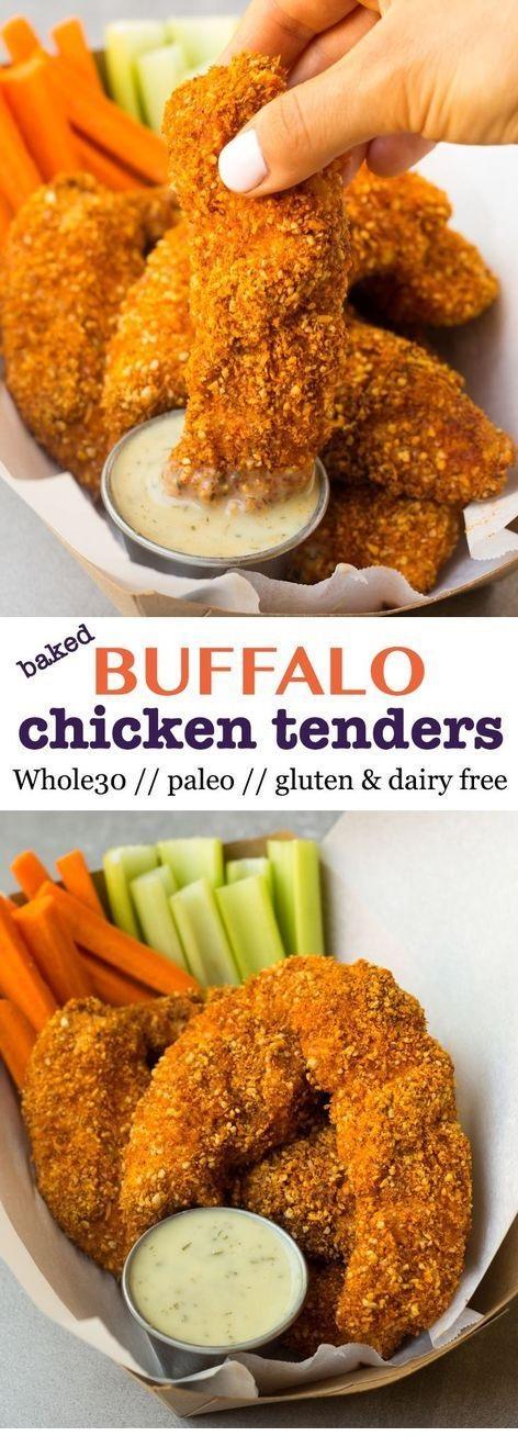 Whole30 Buffalo Chicken Tenders