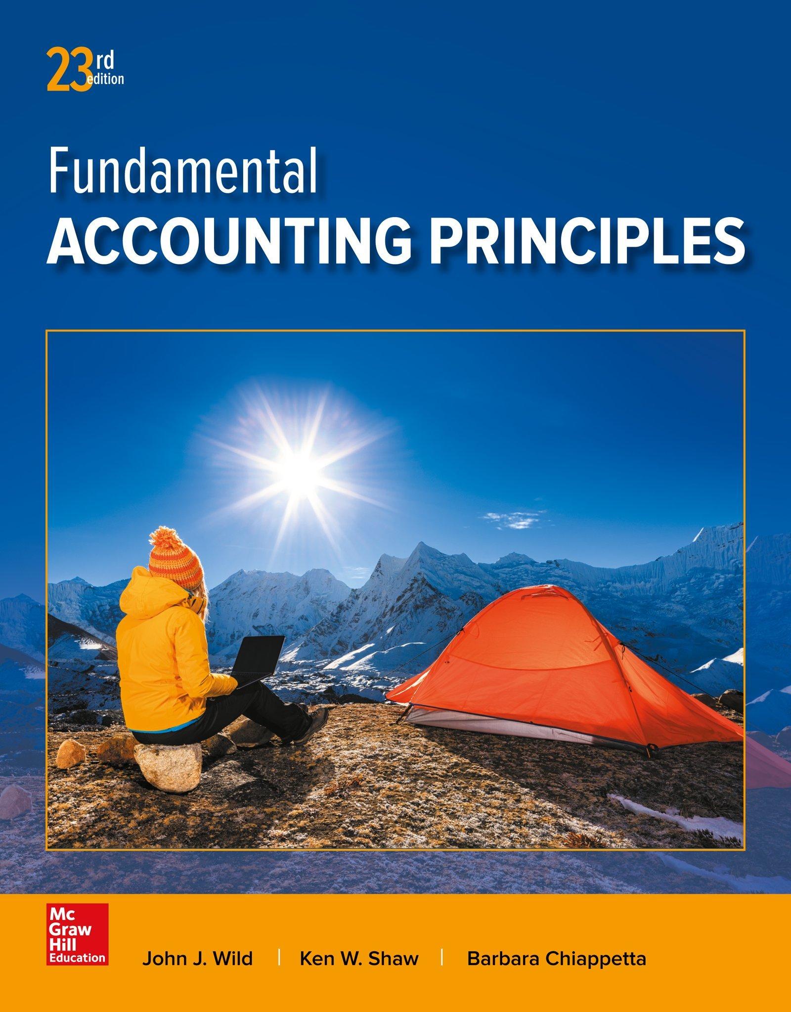 مبادئ المحاسبة الأساسيةFundamental Accounting Principles