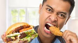 Ketika kamu makan lebih banyak dari biasanya berarti kamu sedang stres ?