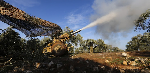 Συρία: Ρωσική αεροπορική επιχείρηση κατά του τουρκικού πυροβολικού