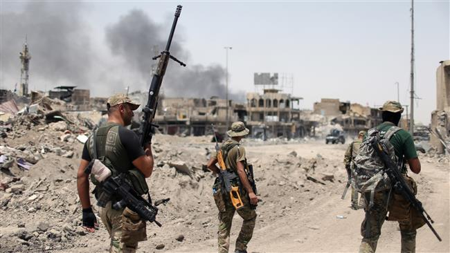 Daesh Takfiri terrorists cornered in Mosul as Iraqi government forces inch closer to final victory