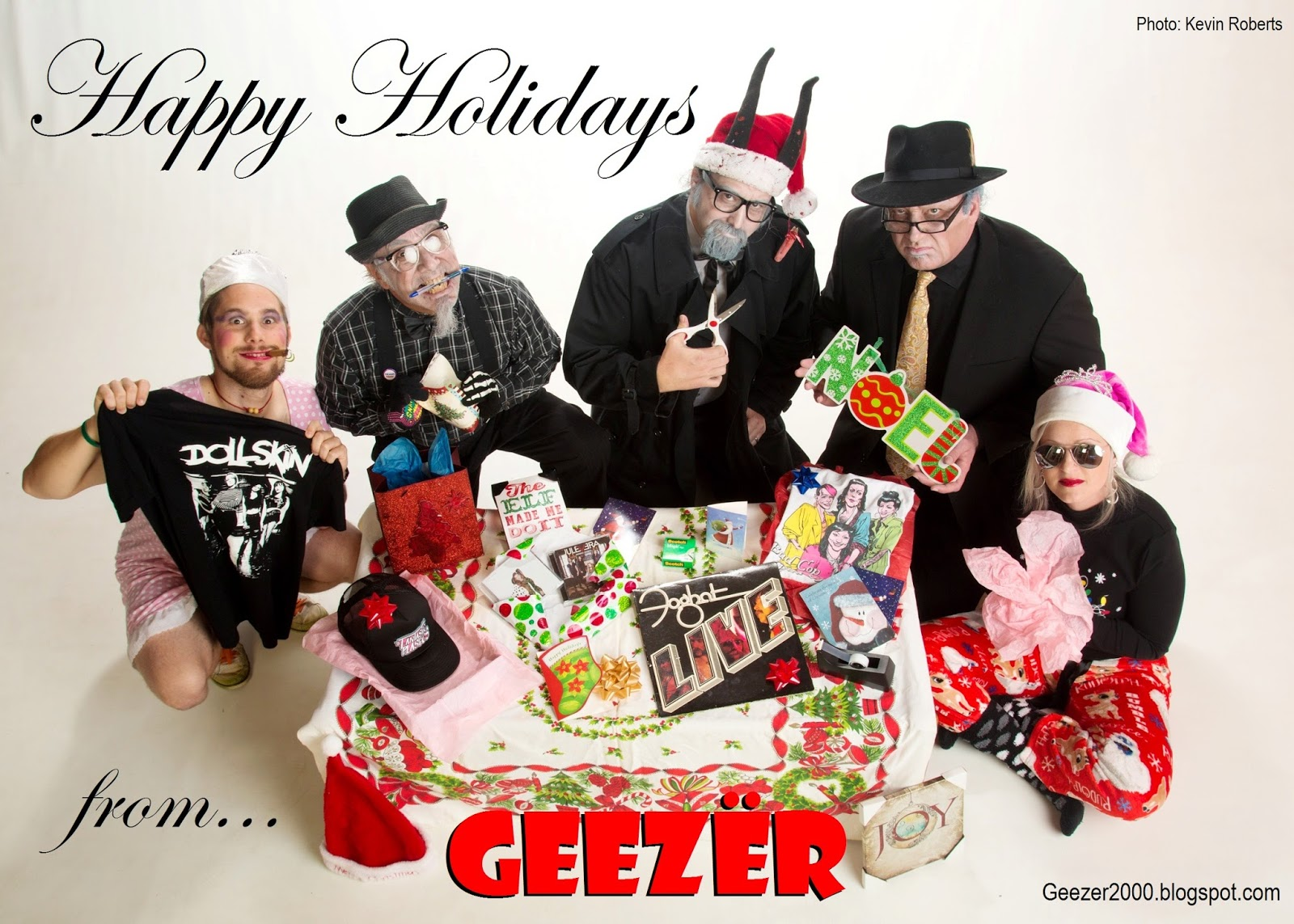 heavy metal christmas geezer style - Heavy Metal Christmas