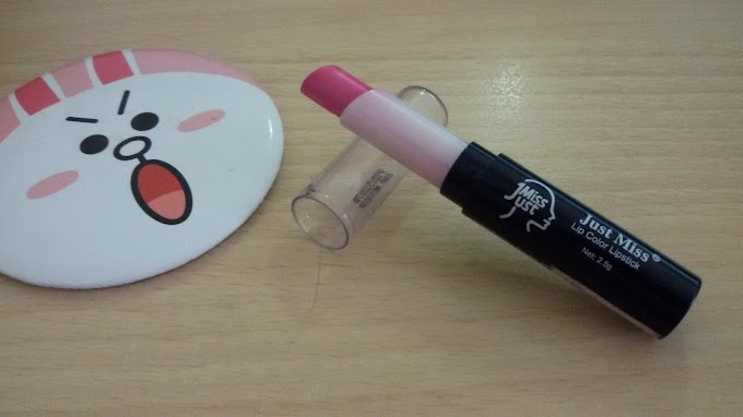 REVIEW KOSMETIK : Lipstick Just Miss