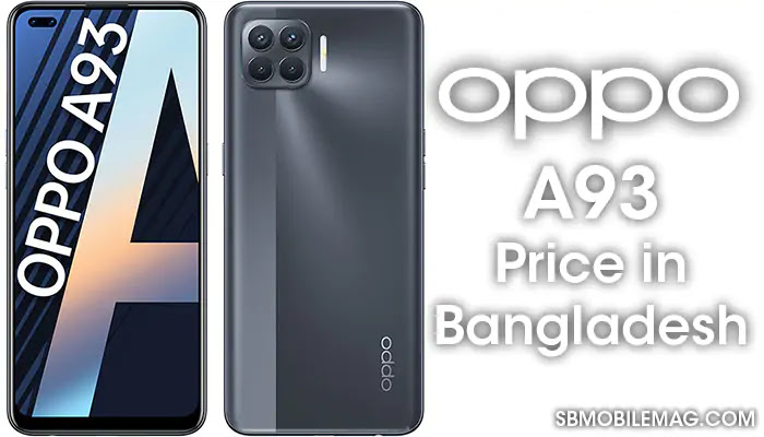 Oppo A93, Oppo A93 Price, Oppo A93 Price in Bangladesh