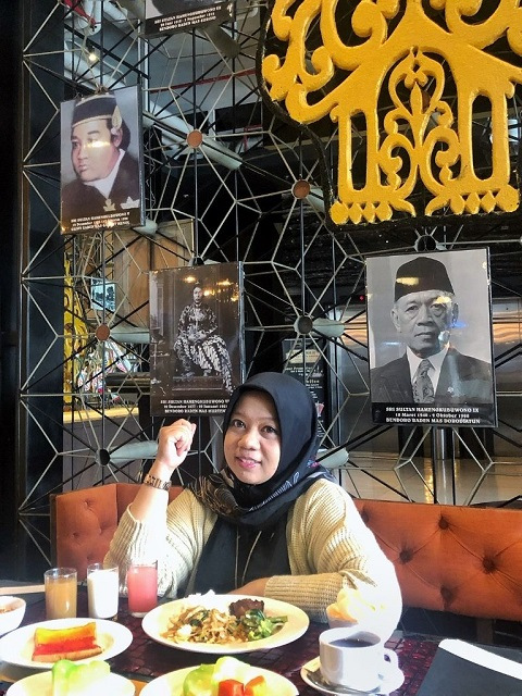 breakfast at siung restaurant