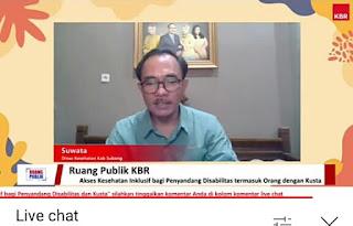 Bp. Suwata Dinas Kesehatan Kab. Subang