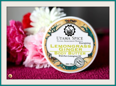 Utama Spice Lemongrass Ginger Body Butter Review