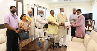 मुख्यमंत्री श्री चौहान से जनजाति सुरक्षा मंच के प्रतिनिधि मंडल ने भेंट की! mukhyamantri shree chohan se janjati suraxa manch ke pratinidhi mandal ne bet ki