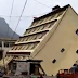 Watch terrifying moment flood washed away a 5-story building in China