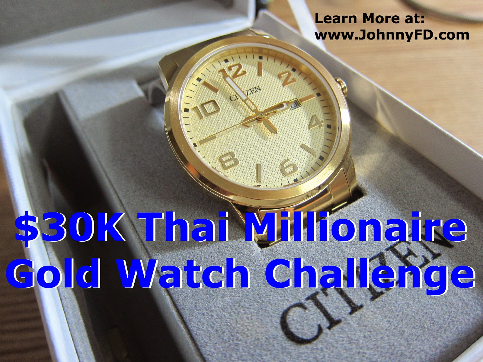gold watch challenge