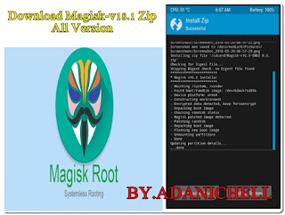 Download Magisk-v18.1 Zip All Version