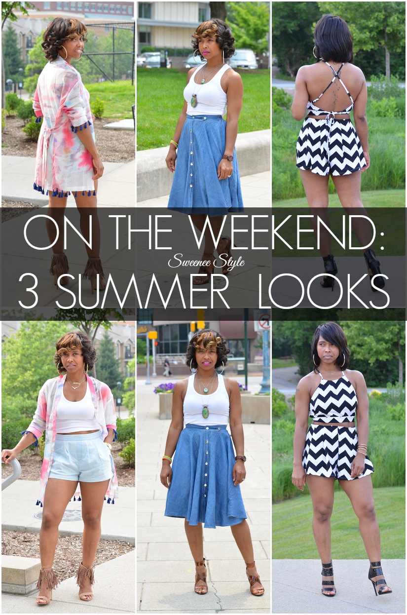 6eb556d9f0a ON THE WEEKEND 3 Summer Looks