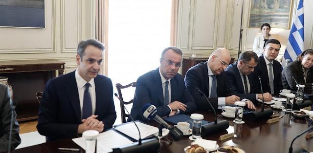 Έκτακτα μέτρα για χερσαία και θαλάσσια σύνορα ανακοίνωσε ο Μητσοτάκης