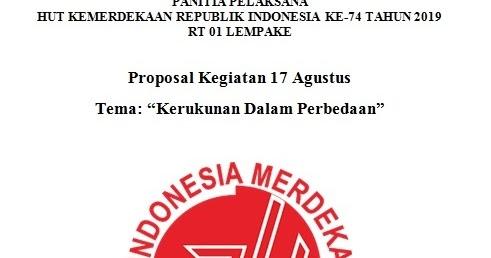 Kumpulan Contoh Formulir Lomba 17 Agustus Hari Kemerdekaan ...