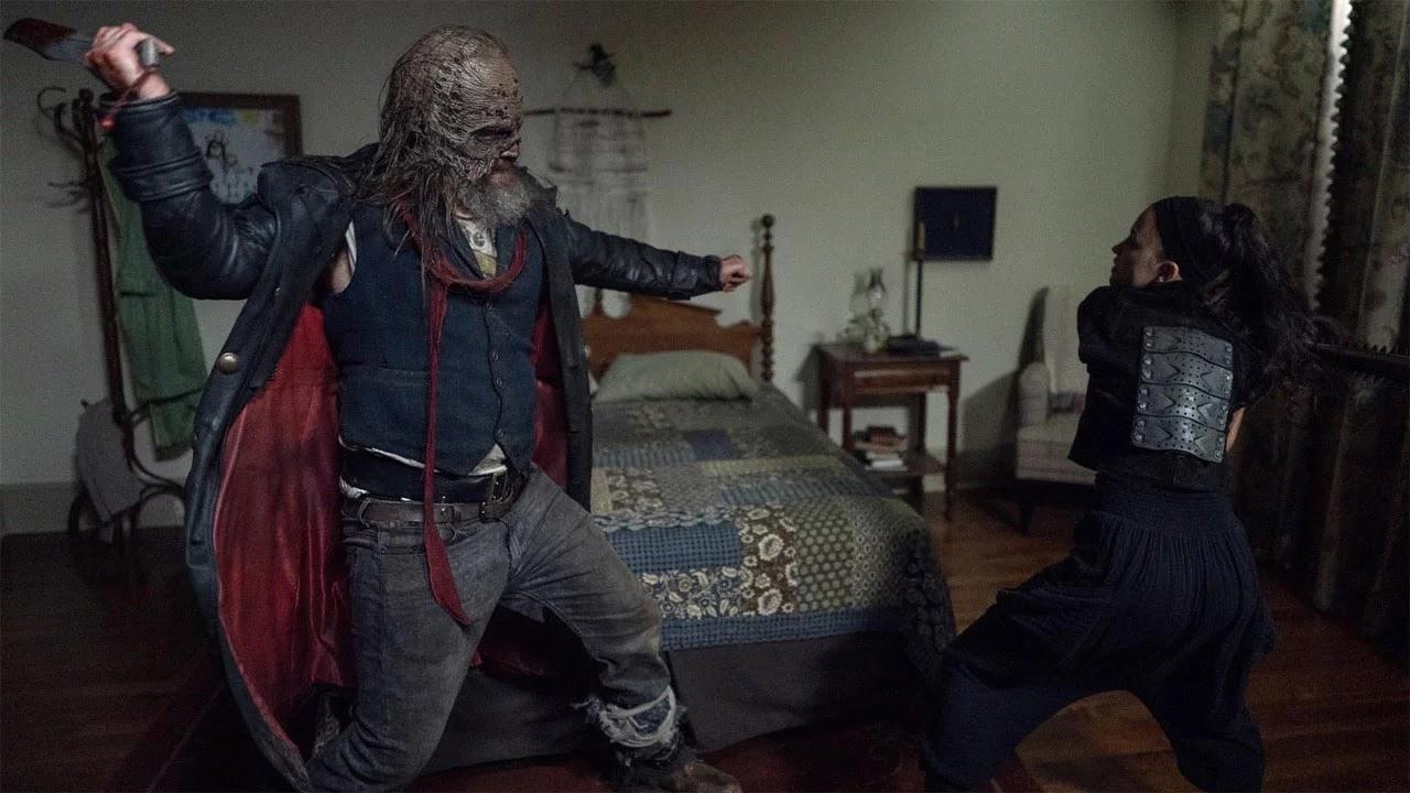 Rosita y Beta, en Stalker el episodio 10x10 de The Walking Dead