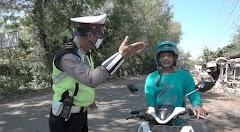 Polres Batang Bersama Kodim Dan Satpol PP Rutin Gelar Razia Wajib Masker Bagi Para Pengendara Kendaraan