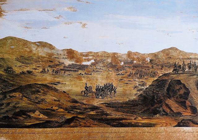 Batalla de Carabobo, por Garneray